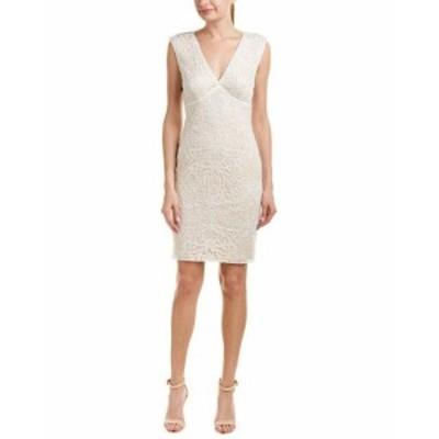 Tadashi Shoji タダシショウジ ファッション ドレス Tadashi Shoji Sheath Dress 12 White