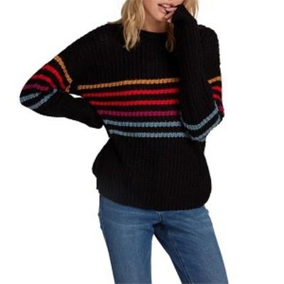 ボルコム レディース ニット・セーター アウター Volcom Move On Up Sweater - Women's Black Combo