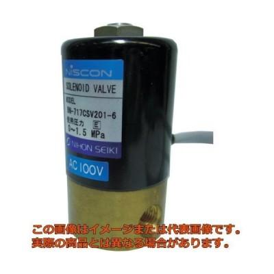 日本精器 2方向電磁弁6AAC100V717CS BN717CSV2016E100