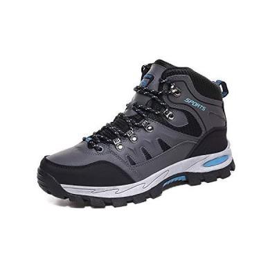 [Zcoli] トレッキングシューズ メンズ 防水 ミドルカット アウトドアシューズ レディース 防滑 通気 登山靴 大きいサイズ 軽登山用シューズ