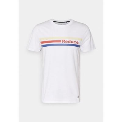 ファグオ Tシャツ メンズ トップス ARCY UNISEX - Print T-shirt - white
