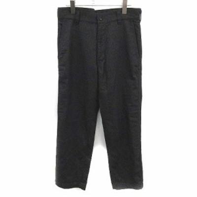 【中古】コムデギャルソンオム COMME des GARCONS HOMME パンツ スラックス ウール XS チャコールグレー /YM メンズ