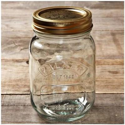 キルナー 保存瓶 ジャー ボトル 12個セット 500ml Kilner Preserve Jar, Set of 12, 17-fluid ounces