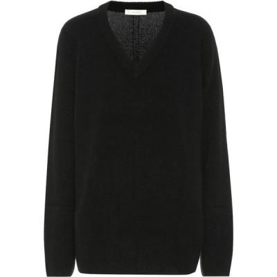 ザ ロウ The Row レディース ニット・セーター トップス Elaine Wool And Cashmere Sweater Black