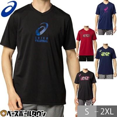 Tシャツ・ポロシャツ メンズアパレル アシックス asics グラフィックVネックショートスリーブトップ 2051a250