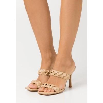レディース 靴 シューズ GEMMA - Heeled mules - nude
