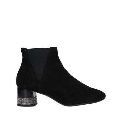 GEOX ショートブーツ ファッション  レディースファッション  レディースシューズ  ブーツ  その他ブーツ ブラック