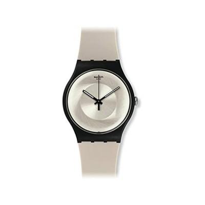 Swatch Unisex-Adult Analogue Quartz Watch with Silicone Strap SUOC104 好評販売中