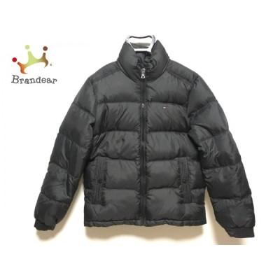 トミーヒルフィガー TOMMY HILFIGER ダウンコート サイズS メンズ - 黒 長袖/冬  値下げ 20210413
