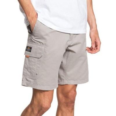 クイックシルバー カジュアルパンツ ボトムス メンズ Men's Maldive Cargo Shorts Medium Gray