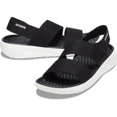 crocs(クロックス) LITERIDE STRETCH SANDAL W 206081-066 シューズ レディースサンダル ウォーターシューズ レディース BLAC...