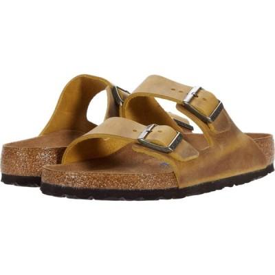 ビルケンシュトック Birkenstock レディース サンダル・ミュール シューズ・靴 Arizona Soft Footbed - Leather (Unisex) Ochre Oiled Leather