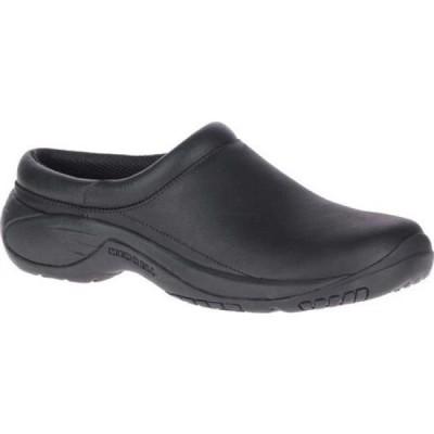 メレル Merrell メンズ スリッポン・フラット シューズ・靴 Encore Gust 2 Slip On Black Smooth/Mesh