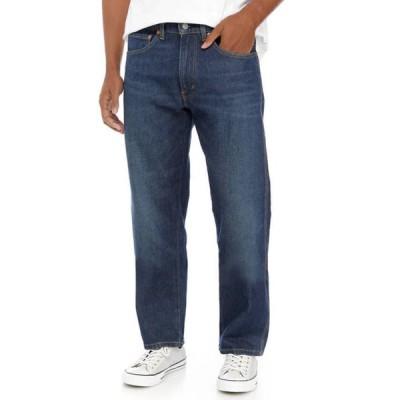 リーバイス メンズ デニムパンツ ボトムス Straight Leg Regular Fit Jeans