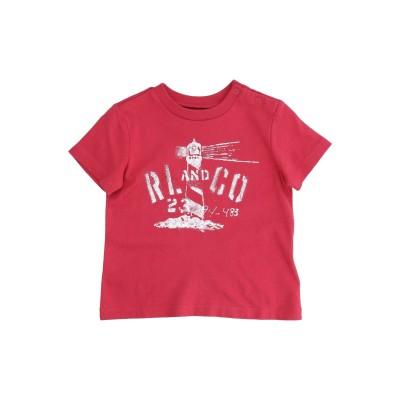ラルフローレン RALPH LAUREN T シャツ レッド 6 コットン 100% T シャツ