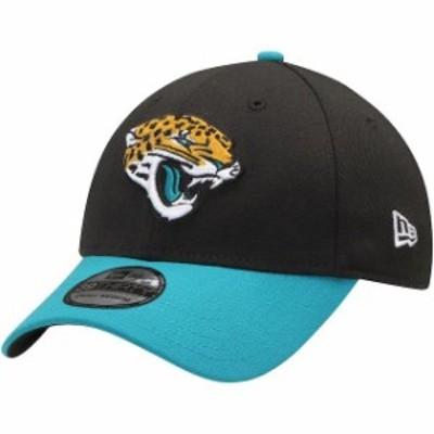New Era ニュー エラ スポーツ用品  New Era Jacksonville Jaguars Black/Teal Team Classic Two-Tone 39THIRTY Flex Hat