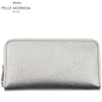 PELLE MORBIDA ペッレモルビダ ラウンドジップ長財布 BARCA PMO-BA311 (シャンパンゴールド)Fゴールド(C90)