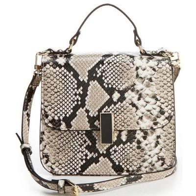 ジャンビニ レディース ショルダーバッグ バッグ Mia Snake Print Crossbody Bag
