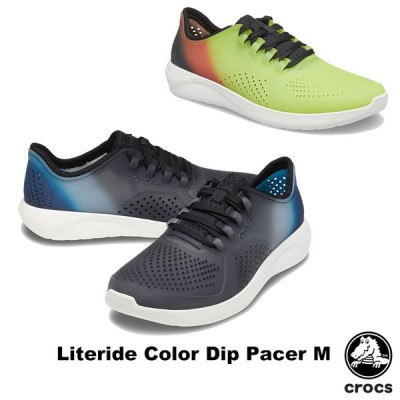 クロックス CROCS  ライトライド カラー ディップ ペイサー メン literide color dip pacer m メンズ スニーカー シューズ 男性用  [BB]