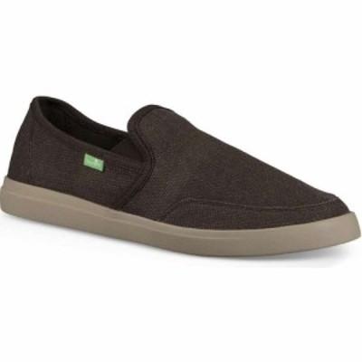 サヌーク Sanuk メンズ スリッポン・フラット スニーカー シューズ・靴 Vagabond Slip-On Sneaker Shoe Brown