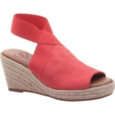 マデライン Madeline レディース エスパドリーユ ウェッジソール シューズ・靴 Sunny Day Espadrille Wedge Lipstick Textile