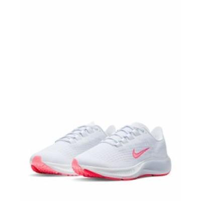 ナイキ レディース スニーカー シューズ Women's Air Zoom Pegasus 37 VT Mesh Covered Trainer Sneakers White/Bright Crimson/Football