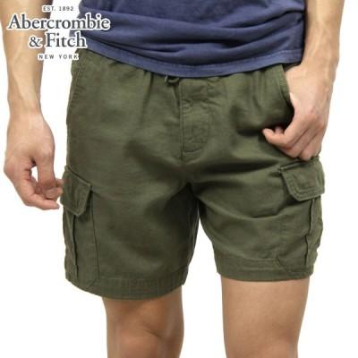 アバクロ メンズ Abercrombie&Fitch 正規品 ショートパンツ PULL-ON CARGO SHORTS 128-283-0698-330