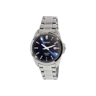 腕時計 セイコー Seiko Men's SGEH47 Silver Stainless-Steel Plated Japanese Quartz Dress Watch