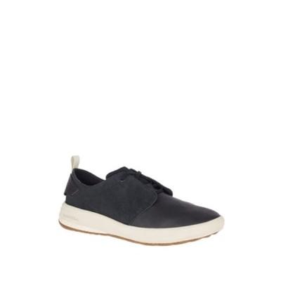 メレル メンズ スニーカー シューズ Gridway Leather Sneaker BLACK