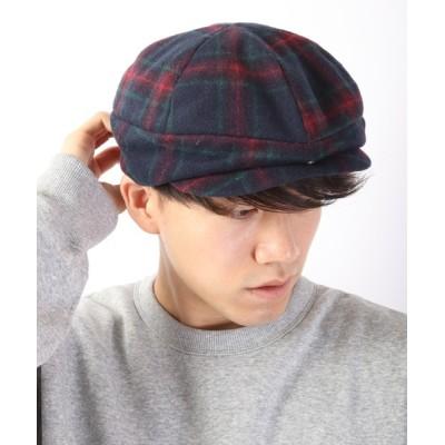 FUNALIVE / 【SENSE OF GRACE】 GF OVER HUNTING 3WAY チェックハンチング MEN 帽子 > ハンチング/ベレー帽