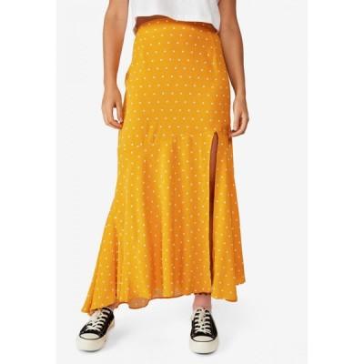 コットンオン Cotton On レディース ロング・マキシ丈スカート スカート Tahli Split Maxi Skirt Amy Spot Mango