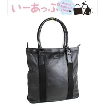 バーバリー トートバッグ ビジネスバッグ 書類かばん 美品 ブラック 黒 n236