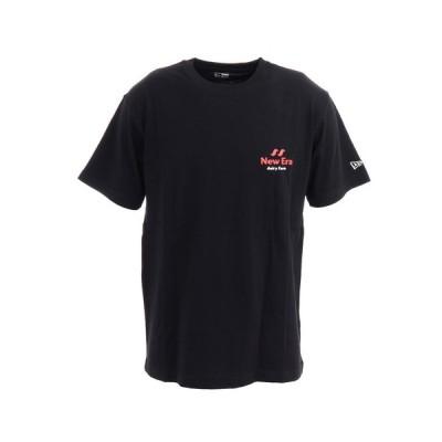 ニューエラ(NEW ERA) 半袖コットンTシャツ デイリーファーム オリジナル ロゴ 12325162 (メンズ、レディース)