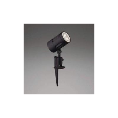 【法人限定】XU44319L コイズミ照明 LED防雨型スポット 本体:アルミダイカスト・黒色塗装前面ガラス:強化ガラス・透明スパイク:アルミダイカスト・黒色塗装