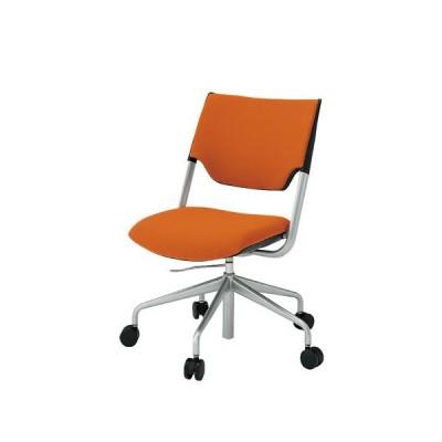 イトーキ 会議椅子 レクシブ 肘なし クロスバック ガス上下調節 KLC-860