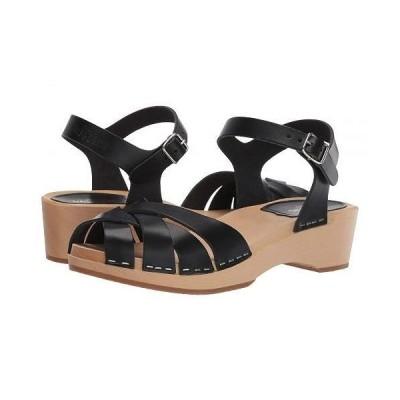 Swedish Hasbeens スウェディッシュハズビーンズ レディース 女性用 シューズ 靴 ヒール Magdalena - Black