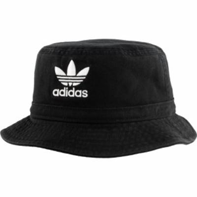アディダス adidas ユニセックス ハット バケットハット 帽子 Originals Adult Washed Bucket Hat Black/White