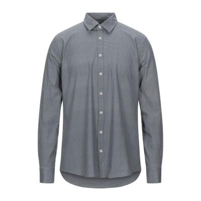 SSEINSE シャツ 鉛色 S コットン 97% / ポリウレタン 3% シャツ