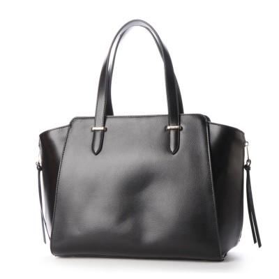 ヴィータフェリーチェ VitaFelice トートバッグ 牛革バッグ レザーバッグ A4 お仕事トートバッグ ビジネスバッグ (BLACK)