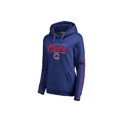 野球 MLB ファナティクス ブランド Fanatics Branded Chicago Cubs Women's Royal High Class Pullover Hoodie
