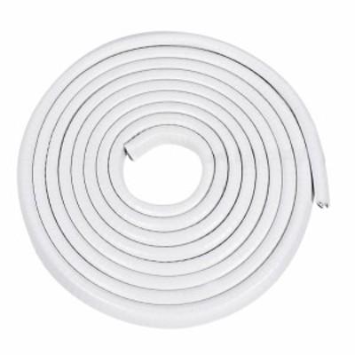 uxcell エッジトリム 適合1.5-3.5mm エッジ3 M長さ Uシール押出 Uチャンネルエッジプロテクター PVC プラスチック アイアン ホ