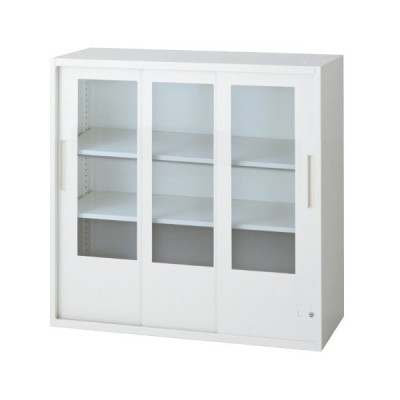 L6 3枚引違いガラス保管庫 L6-A90SG-C W4 jtx 648386 プラス 送料無料