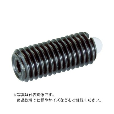 TRUSCO スプリングプランジャー M5 樹脂ピン ( T5PN-R ) トラスコ中山(株)