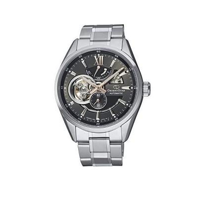 Orient Star Semi Skeleton Sapphire Gray Dial Automatic Steel Watch RE-AV0004N並行輸入品