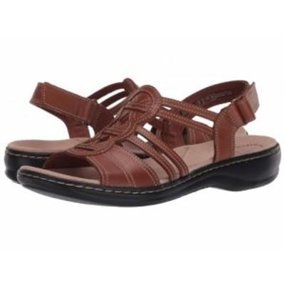 Clarks クラークス レディース 女性用 シューズ 靴 サンダル Leisa Janna Tan Leather【送料無料】
