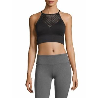 ベッツィージョンソンパフォーマンス レディース スポーツウェア Knitted Laser-Cut Sports Bra