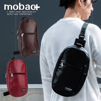 ボディバッグ ワンショルダー メンズ 軽量 軽い ファッション カジュアル シンプル 合成皮革 mobac+