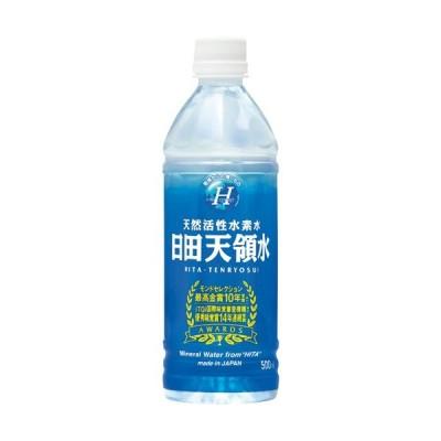 日田天領水 500ml ペットボトル 1セット(48本:24本×2ケース)(代引き不可)