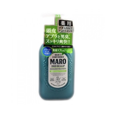 【医薬部外品】マーロ 薬用デオスカルプトリートメント グリーンミントの香り 480ml