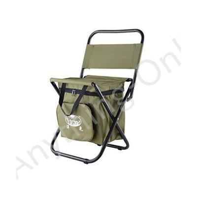 新品 屋外 折りたたみ,ポータブル キャンプ椅子,軽量 コンパクト 釣り椅子,バックパック クーラーチェア並行